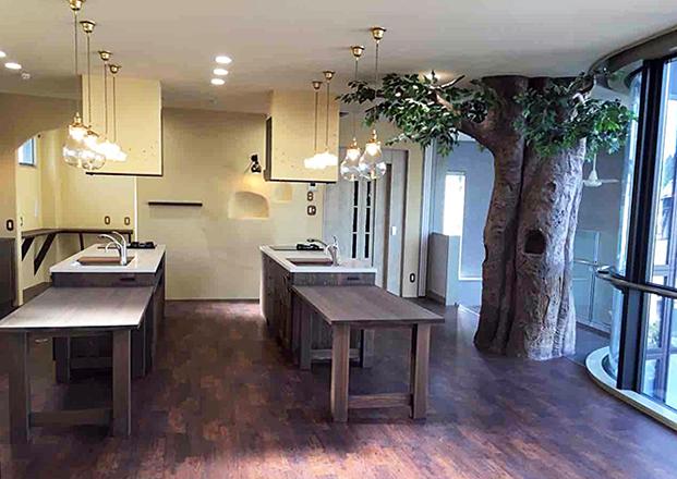 京都の内科の内装事例(2階食生活指導室)